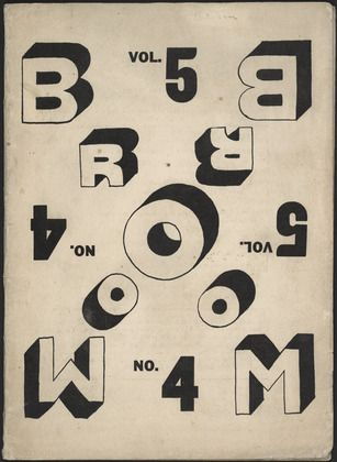 Broom, vol. 5, no. 4 - by El Lissitzky.  Art Experience NYC  www.artexperiencenyc.com/social_login/?utm_source=pinterest_medium=pins_content=pinterest_pins_campaign=pinterest_initial