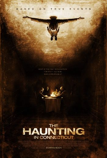 """""""The Haunting in Connecticut."""" Based on a true story. After a family is forced to relocate for their son's health, they begin experiencing supernatural behavior in their new home, and uncover a sinister history. Image and info credit: IMDb."""
