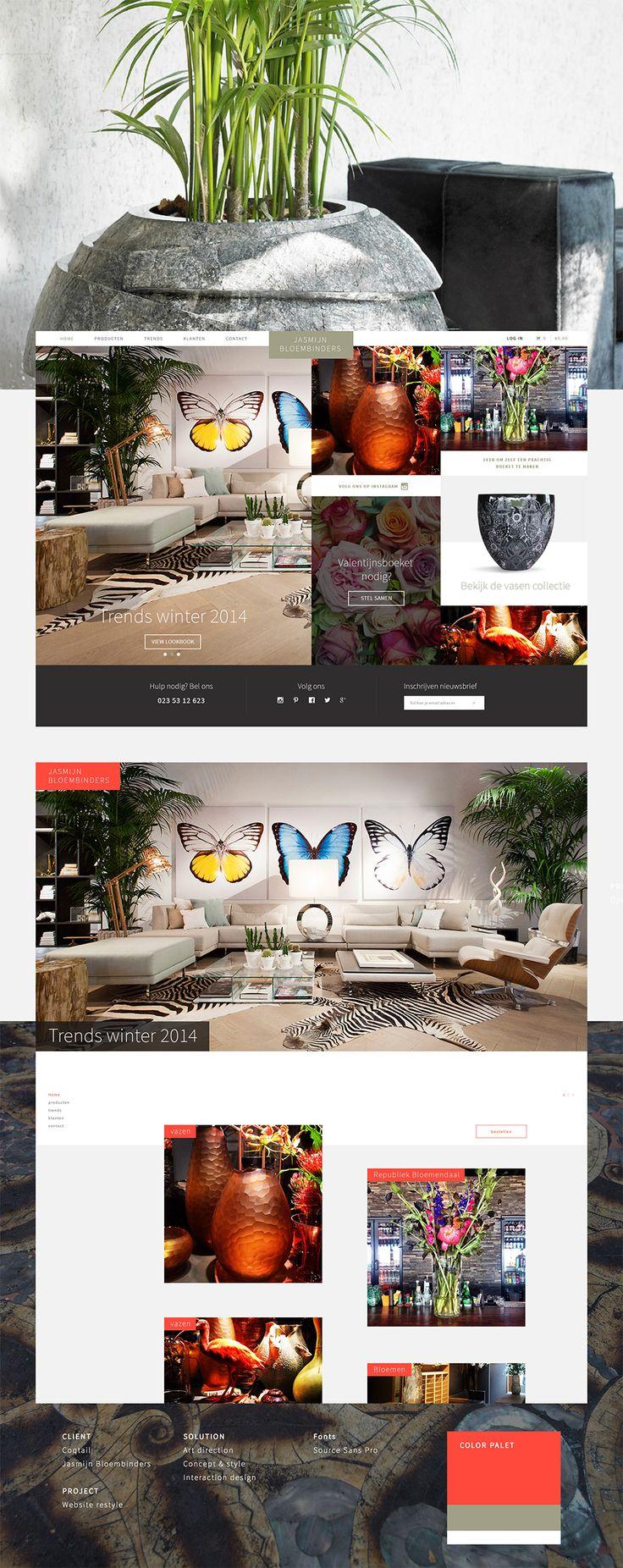 Showcase Jasmijn Bloembinders • Made by Merqwaardig.com