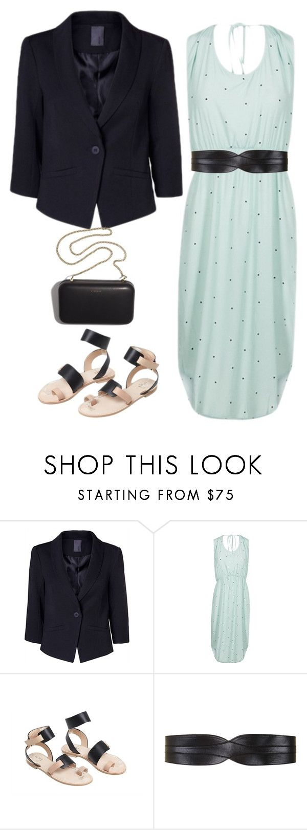 """""""bryllupsoutfit3"""" by caterinamaria on Polyvore featuring Jakke, BCBGMAXAZRIA and Clare V."""