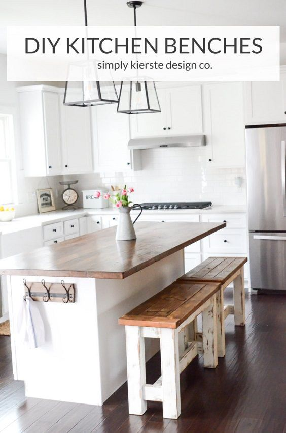 DIY Kitchen Benches That Are Simply Charming