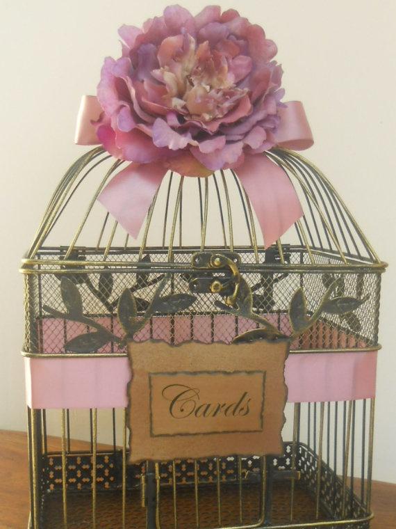 Wedding Gift Card Birdcage : birdcage card holders wedding card holders wedding cards wedding gift ...