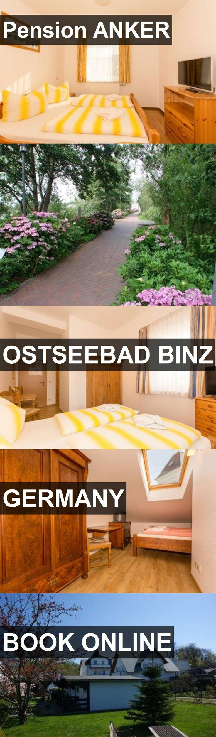 Hotel Pension ANKER in Ostseebad Binz, Germany. For more information, photos, reviews and best prices please follow the link. #Germany #OstseebadBinz #travel #vacation #hotel