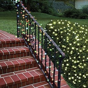 Solar Powered White Christmas Lights for the playhouse?