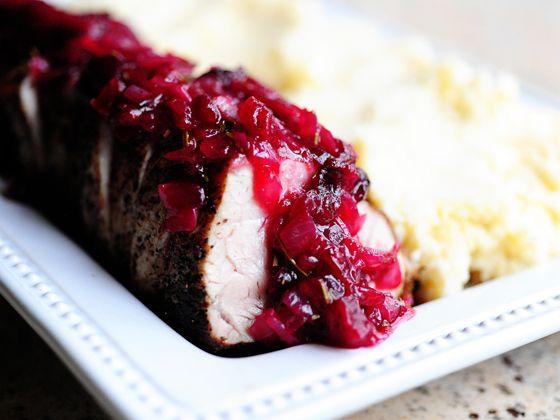 Pork Tenderloin with Cranberry Sauce | Tasty Kitchen: A Happy Recipe ...