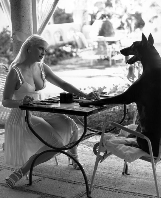 celebrities backgammon player