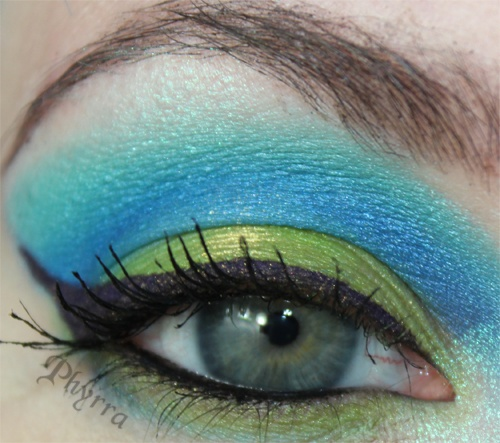 Sugarpill and Femme Fatale Eclectus Parrot tutorial.