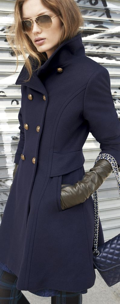 a pea coat can do no wrong.                                                                                                                                                                                 More