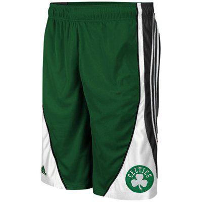 adidas Boston Celtics Flash Basketball Shorts - Green