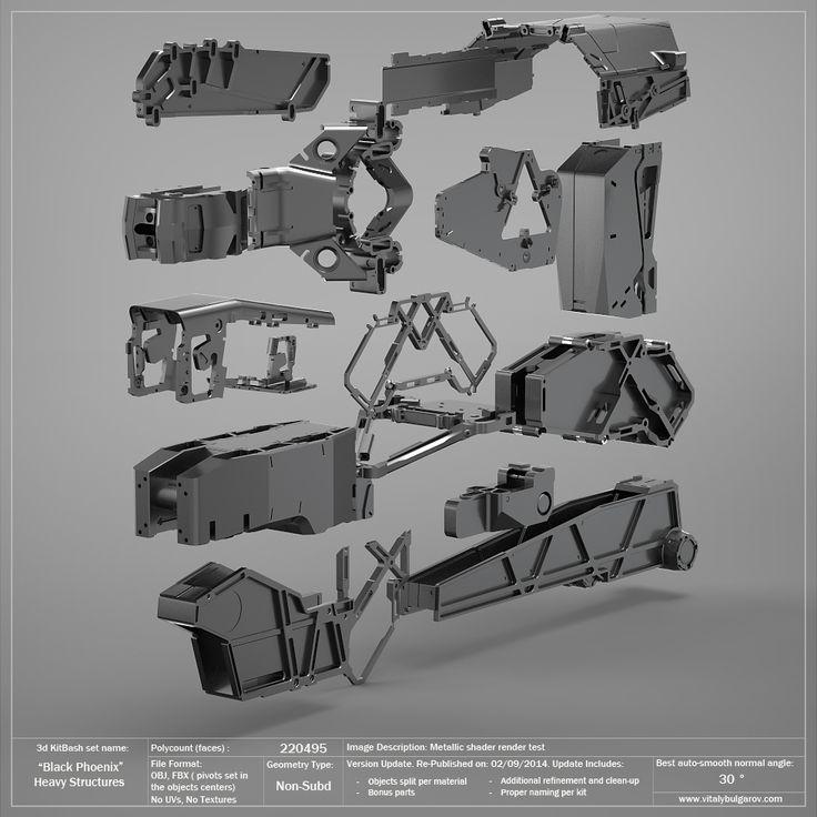 Industrial Light And Magic San Francisco Ca: Black Phoenix: Heavy Structural Parts. 50% OFF!