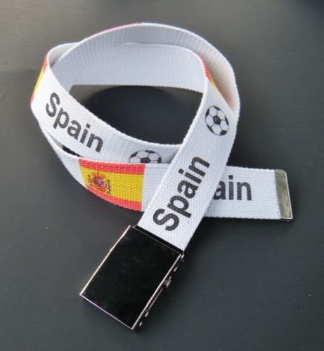 Spain Spanish World Cup Soccer Champs Flag Belt Buckle #spain #spainflag #spanish #spanishflagbelt #spanishflag #flag #fashionbelt #belt #clothbelt