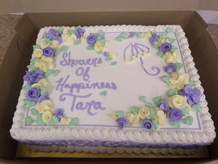 Bridal Shower Sheet Cake Images