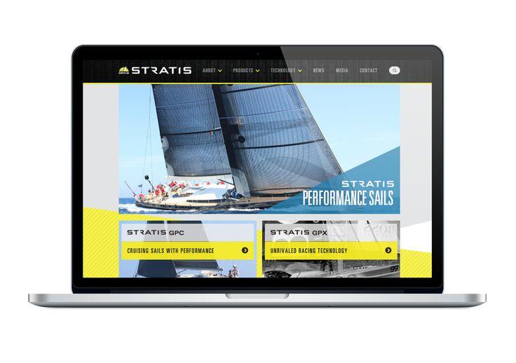 Doyle Sails Website Design by Onfire Design  http://www.doylesails.co.nz/