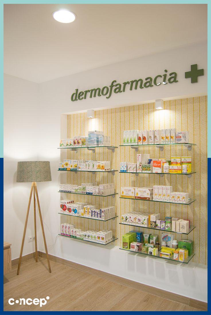 Farmacia González Camero - Sevilla (Spain)  #Concep· #Interiordesing #design #style #interior #deco #farmacia #pharmacy #reforma #diseñointeriores #interiorismo