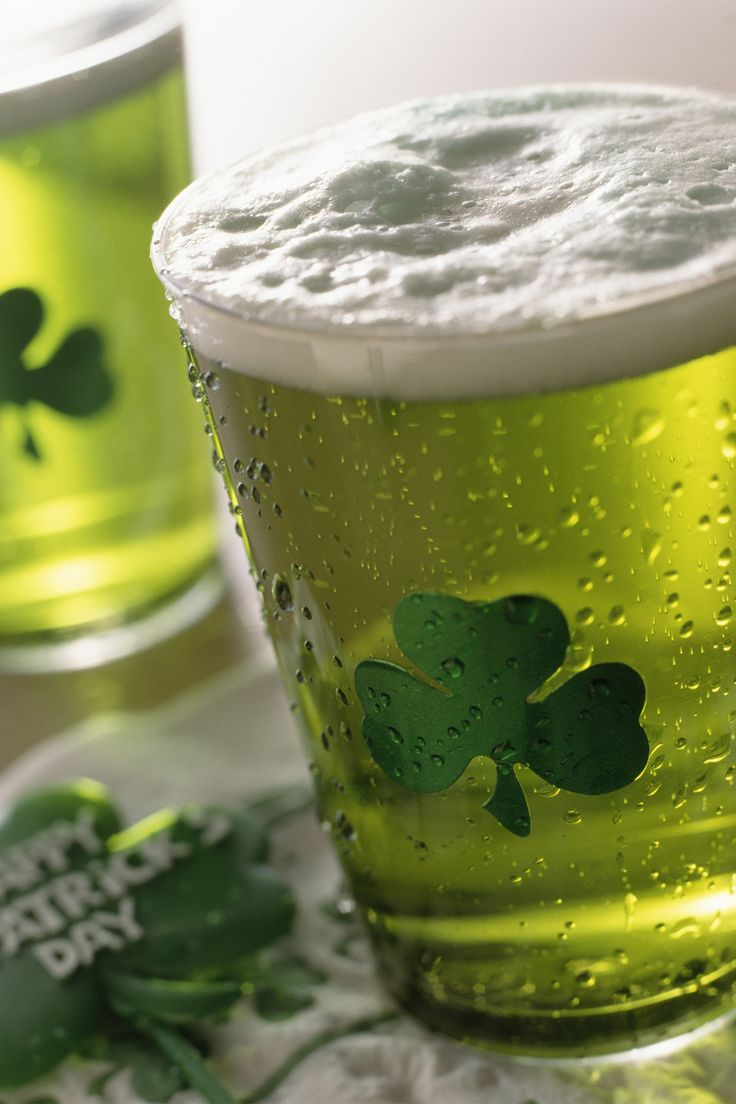 Popular on St. Patrick's Day, creating a glowing glass of Green Beer is easier than you think.