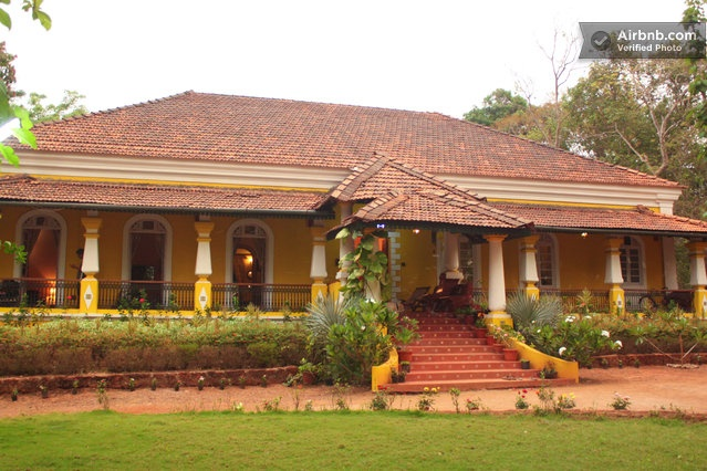 200+ yr Restored heritage homestay in South Goa