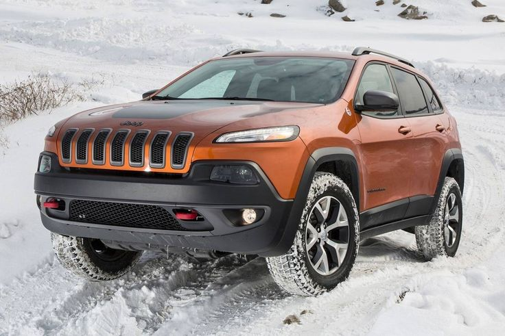 Image result for is Jeep Cherokee Latitude powerful in snow