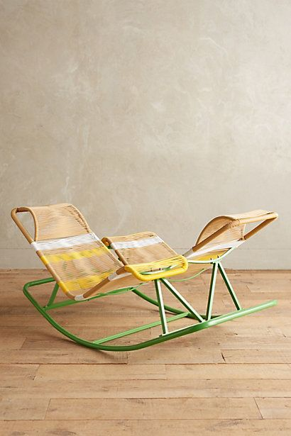 dual rocking chair rocking chairs outdoor projects anthropology ...