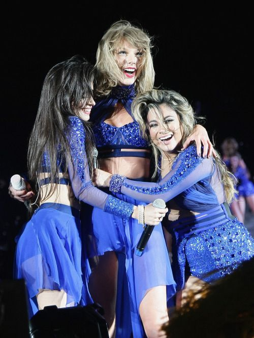 Taylor Swift and Fifth Harmony - 1989 World Tour | TSWIFTDAILY | i learned a lot from ethel kennedy