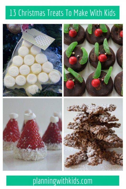 13 fun and easy Christmas Treats To Make With Kids