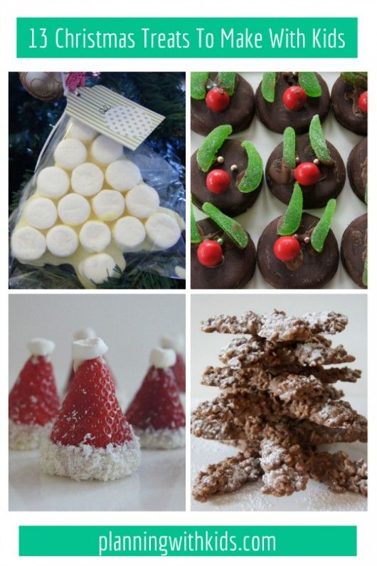 13 fun and easy Christmas Treats To Make With Kids