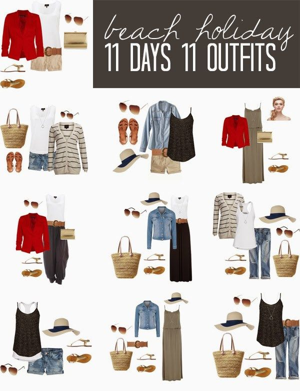 Packing for a holiday does not need to be painful or time consuming ... check out 11 days 11 outfits and see for yourself.