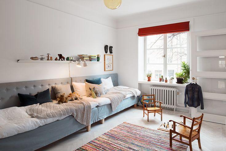 Sankt Eriksgatan Stockholm apartment via Fantastic Frank