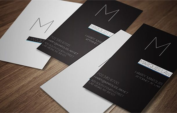 If you are truly a cool lawyer, you'll need a cool business card like one of these.