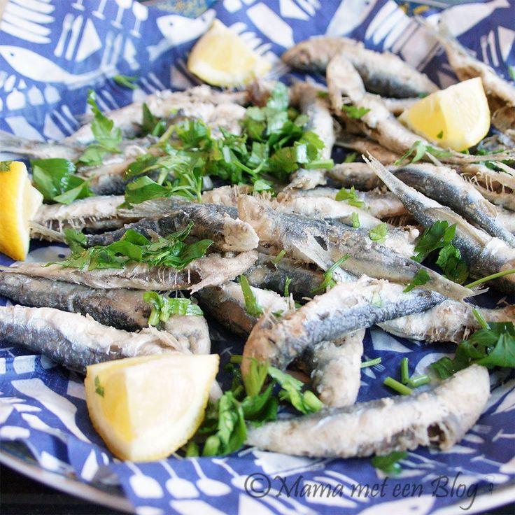 En nog zo`n heerlijk zomers recept...nu kan het nog!! Recept Lekkere gebakken Sardientjes http://mamameteenblog.nl/recept-sardientjes/