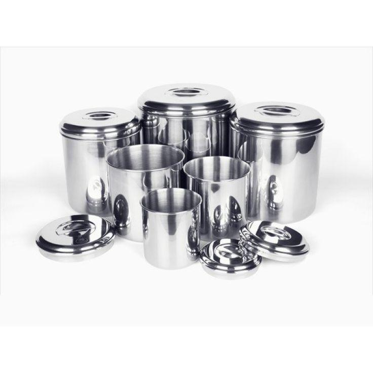 Förvaringsburk i rostfritt stål, 1.5 liter - Onyx - Onyx Containers - Ekologiska leksaker - GoodforKids