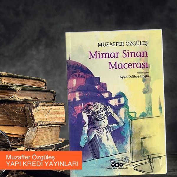 Mimar Sinan Macerası heyecanlı, tarih ve sanat odaklı, benzersiz bir macera vaat ediyor.  Kitabı İnceleyin:   #kitap