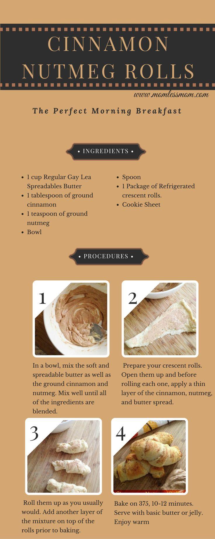 Cinnamon Nutmeg Rolls Recipe