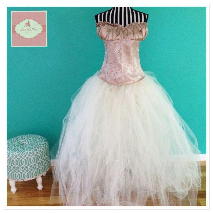 Long tutu skirt made to order any colour #longtutu #loveyoututu