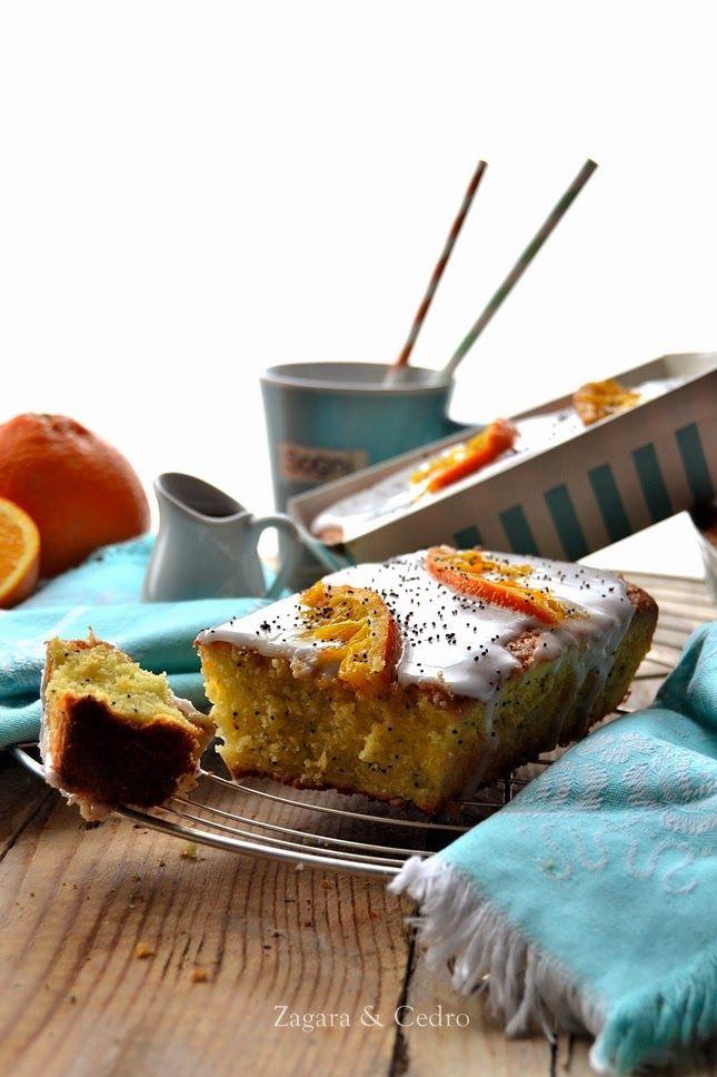 Mini Plumcake all'Arancia e semi di Papavero