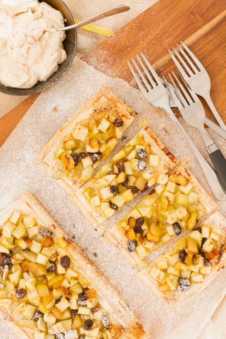These apple, pear and raisin tarts are so delicious and easy to make! The sweetness of the apple and pear are perfectly balanced by the sharpness of the lemon, and juicy orange soaked raisins. Perfect for an Autumn or mid-winter … Continued
