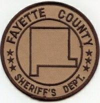 Fayette County Sheriff  IL  Patch 1990s-2007