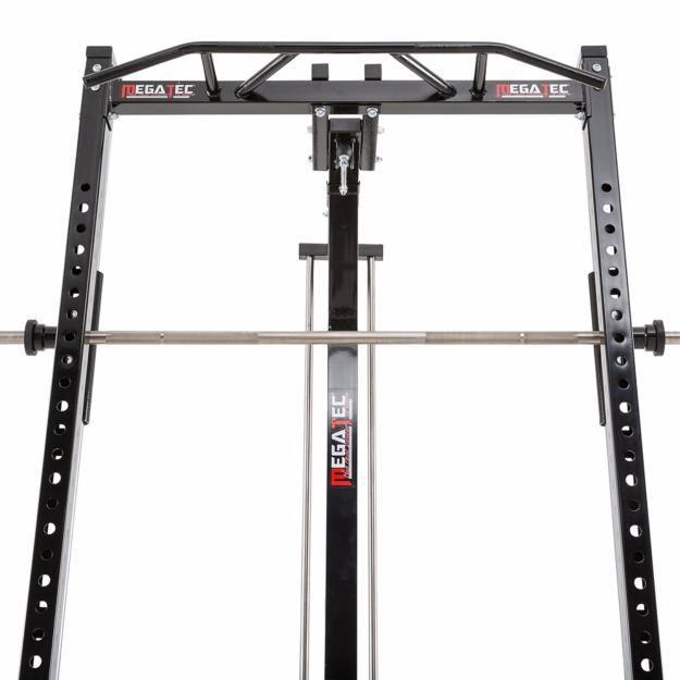 Máquina De Musculación Multipress Tipo Smith Con Estación De Poleas Megatec Diseño De Gimnasio En Casa Maquinas De Gym Equipo De Gimnasio En Casa