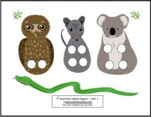 Puppet Play - Australian Animals | Wildlife Fun 4 Kids
