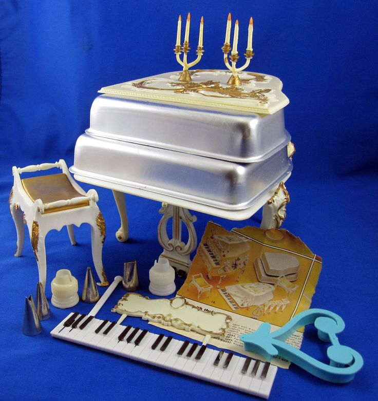 Wilton Grand Piano Cake Pan Set