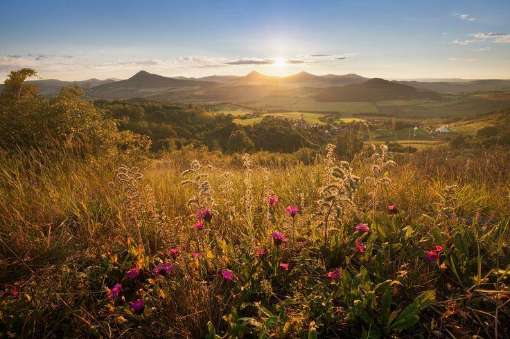 Summer in Czech Central Mountains -