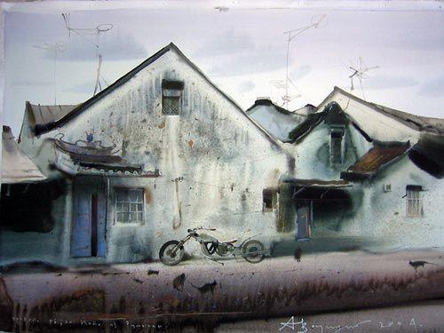 Watercolor Paintings by Alexander Votsmush