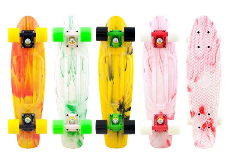 "Penny Marbles 22"" The Original Plastic Skateboard"