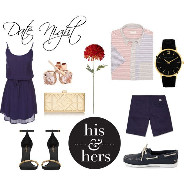 """Date Night - His & Hers"" by daniidf on Polyvore"