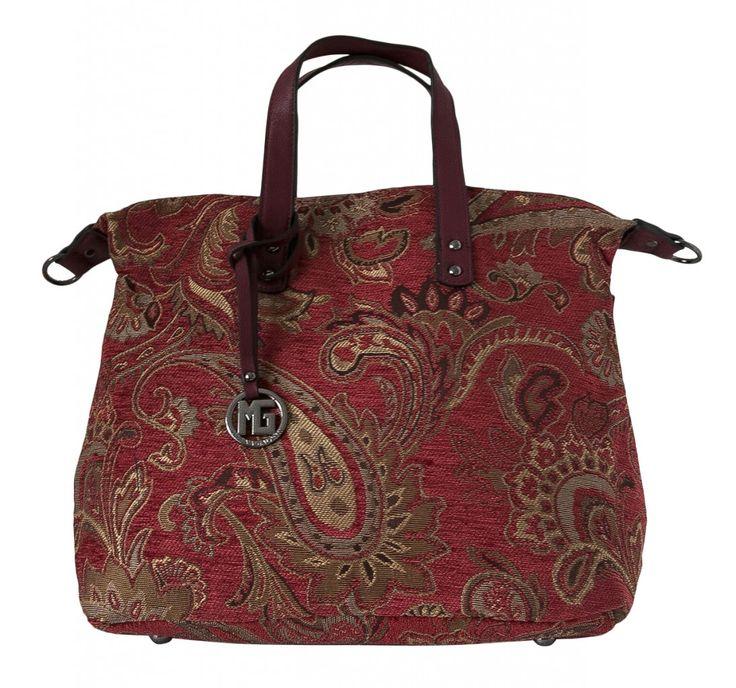Dámská kabelka Marina Galanti, textilní - červená barva | obujsi.cz - dámská, pánská, dětská obuv a boty online, kabelky, módní doplňky