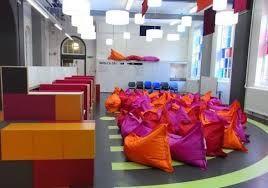 Resultado de imagen para floor designs painted bright colors flexible learning