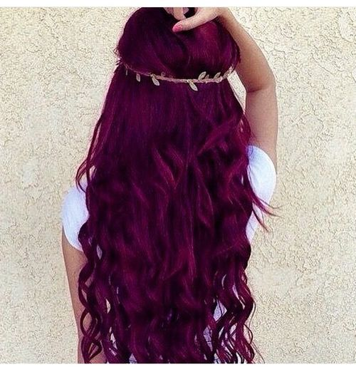 Wild Orchid hair