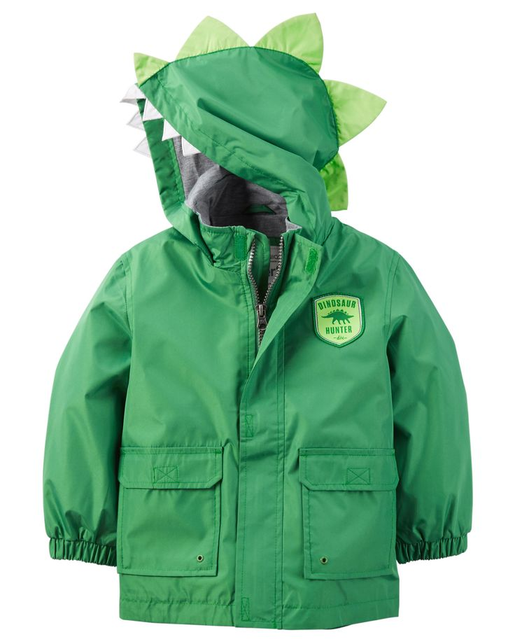 Toddler Boy Dino Raincoat from Carters.com. Shop clothing & accessories from…