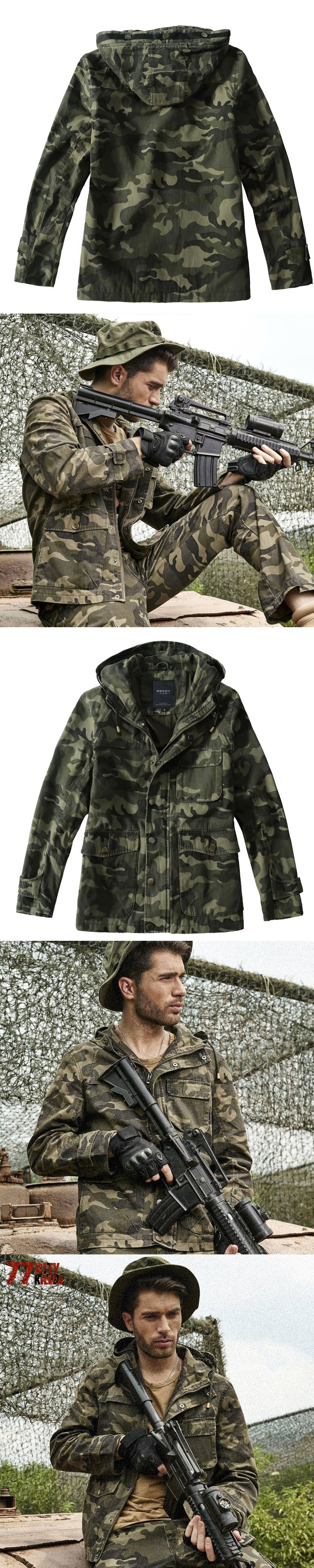 77City Killer Mens Camouflage Flight Jackets Windproof Air Force Combat Jacket Long Sleeve Casual Pilot Coats J2504
