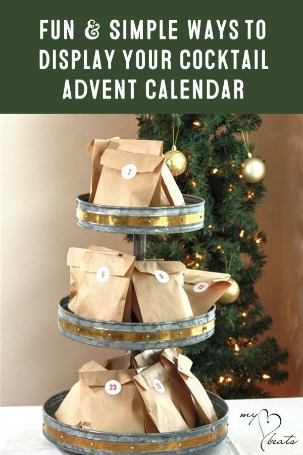 Advent Calendar 2019 Ideas For Adults Fun & Easy Ideas to Display Your Advent Calendar Kit: Classic