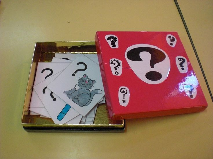 Un rituel en anglais... la question box !